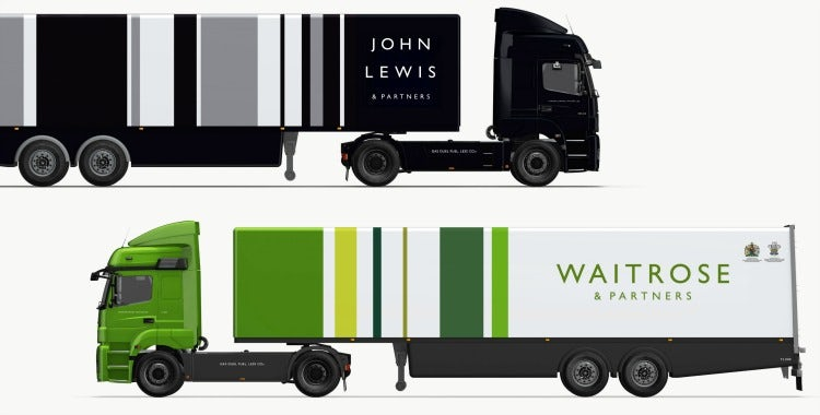 John Lewis and Waitrose rebrands