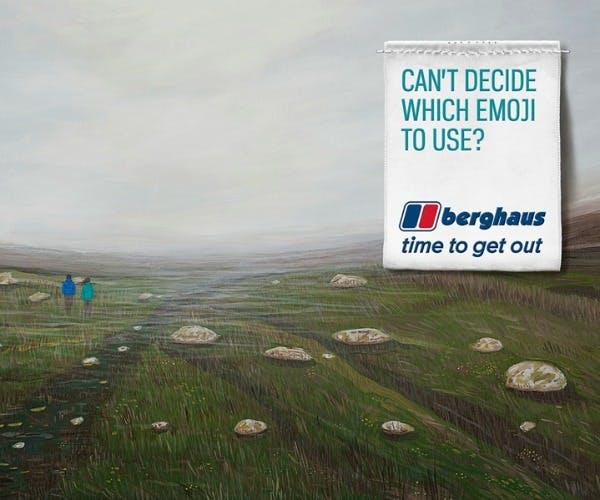 Berghaus marketing campaign