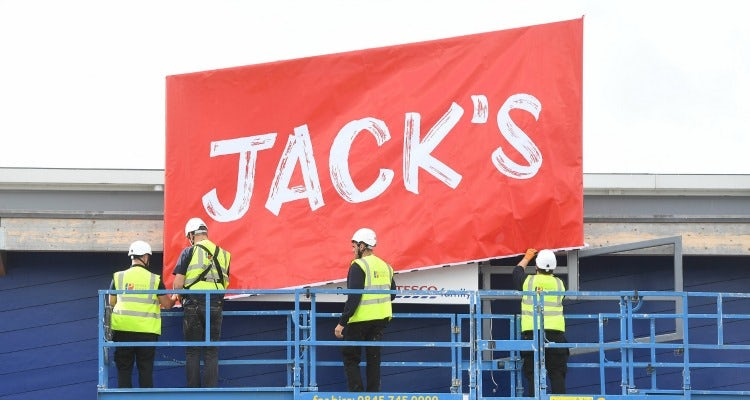 Jack's discount store