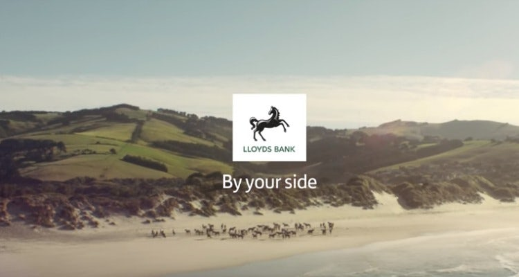 Lloyds Bank 'By your side'