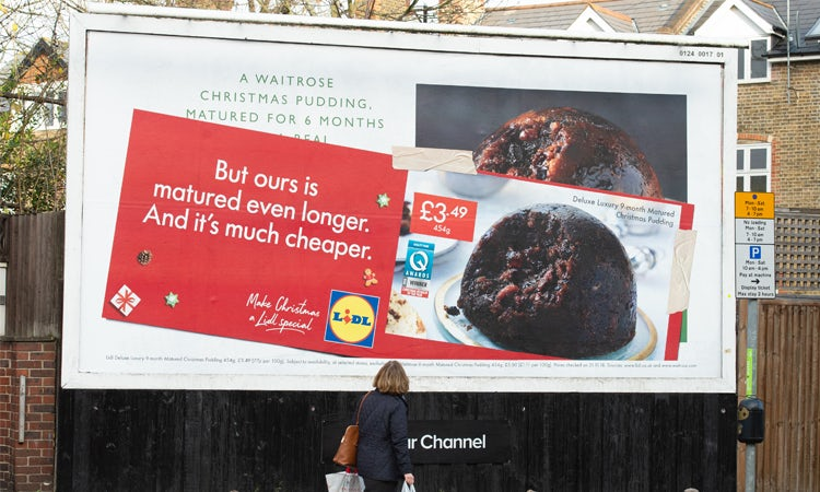 best service 2f086 3d63b First, it was John Lewis s Elton John ad that fell victim to the  discounter s jovial wit (It s a Lidl bit funny…).
