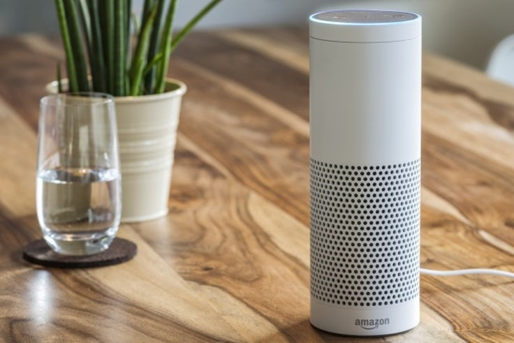 Amazon Echo voice assistant