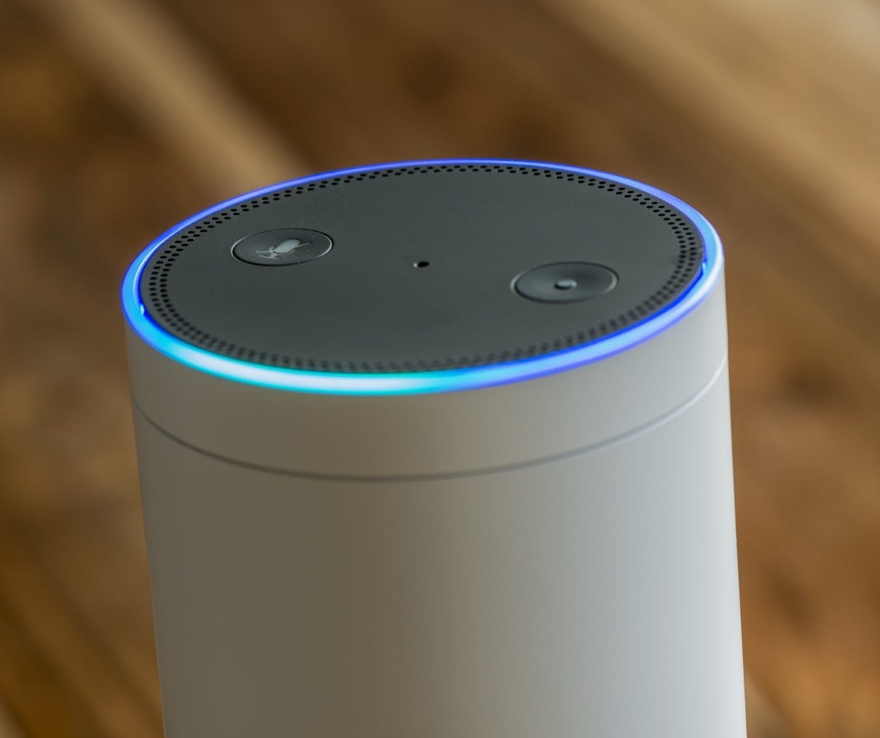 Amazon Echo voice assistant
