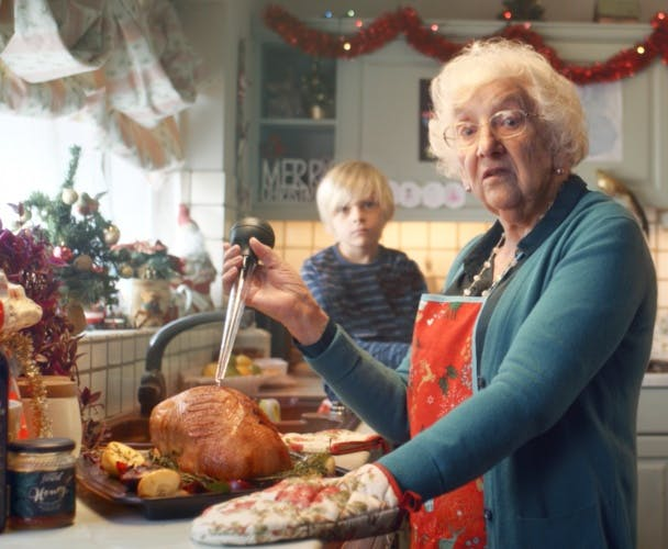 Tesco Christmas campaign