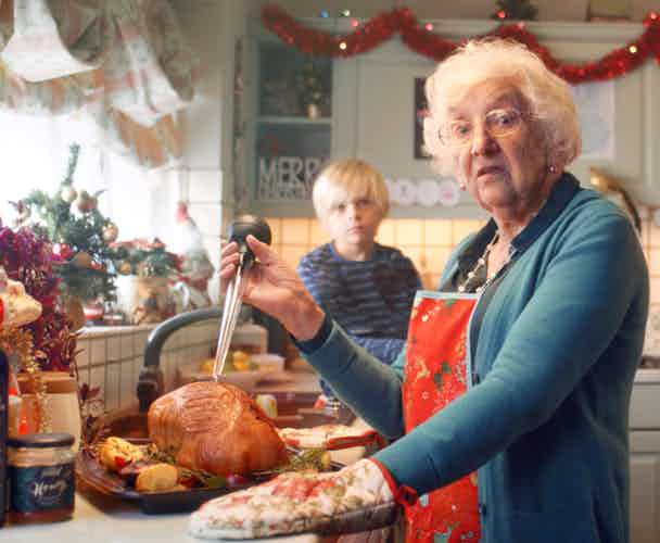 Tesco Christmas campaign