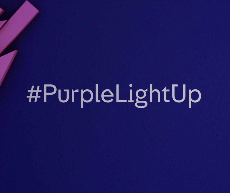 Channel 4 purplelightup