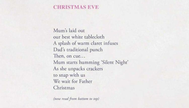 fff199e2ac5bd Refuge uses reversible poetry to raise awareness of domestic abuse at  Christmas