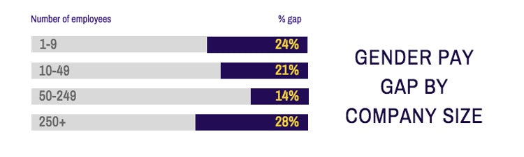 Career-Salary-Survey-2019-gender-pay-gap-by-company-size