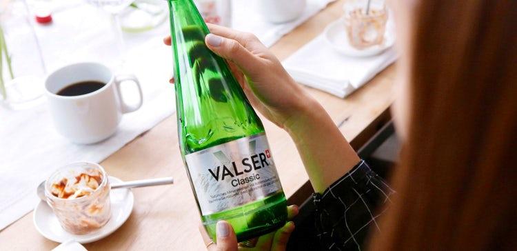 Valser water crowdfunding