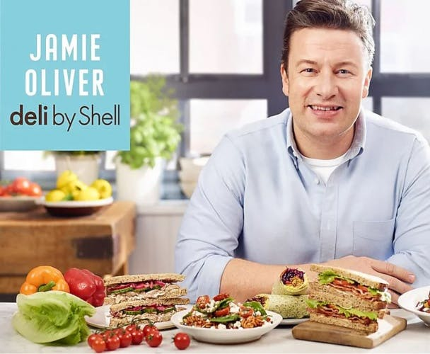 Jamie Oliver partnership with Shell