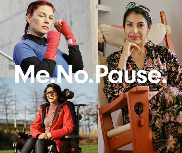 Holland & Barrett 'Me.No.Pause' campaign