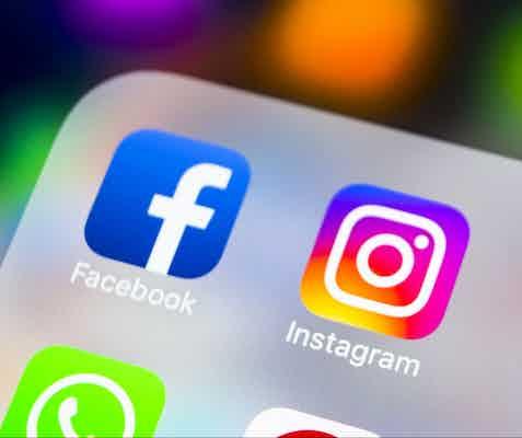 Facebook Instagram mobile apps