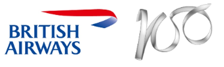 British Airways 100 logo