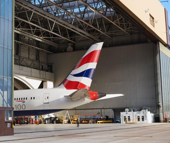 British Airways 100 campaign