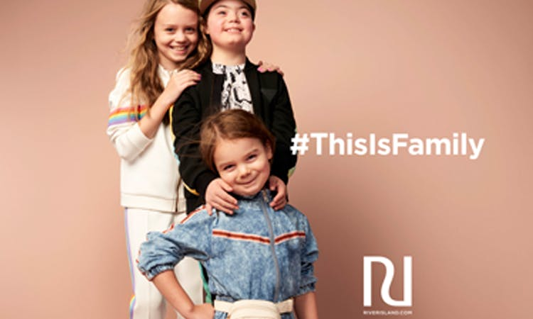 River Island This is Family campaign