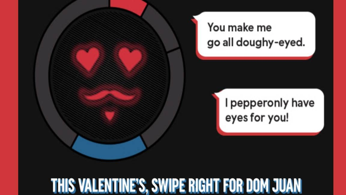 Dominos Tinder chatbot