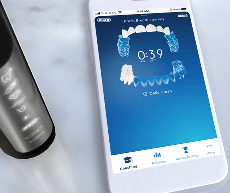 Oral B mobile app