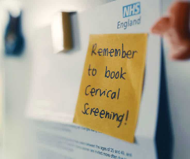 public health england cervical screening campaign