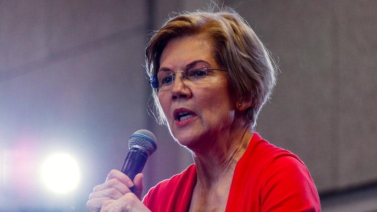 Elizabeth Warren big tech breakup