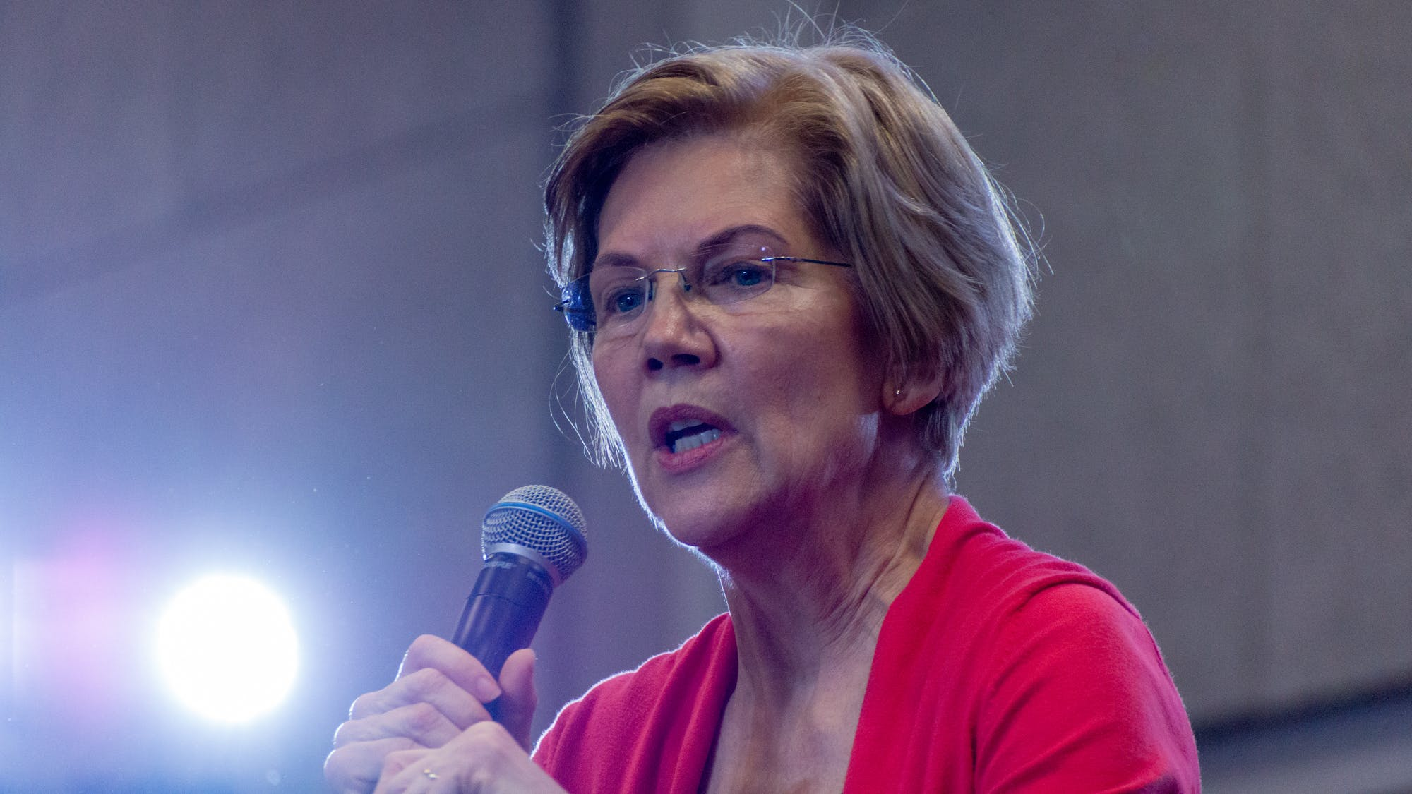 Elizabeth Warren big tech breakup