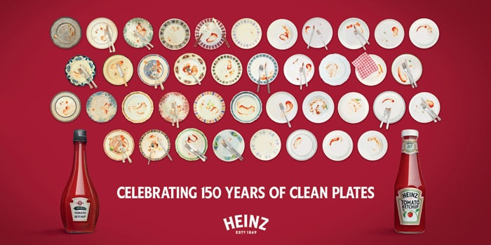 heinz 150th clean plates