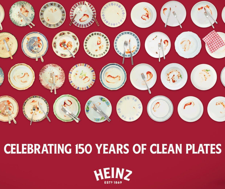 heinz 150th clean plates