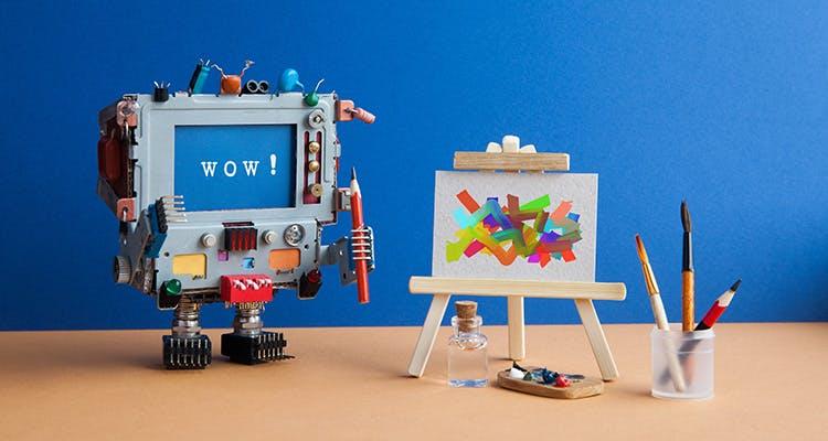 robot creative