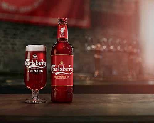 Liverpool red Carlsberg