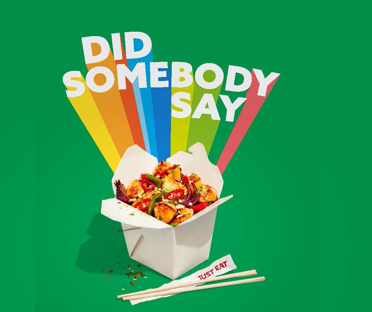Just Eat Launches First Global Brand Campaign