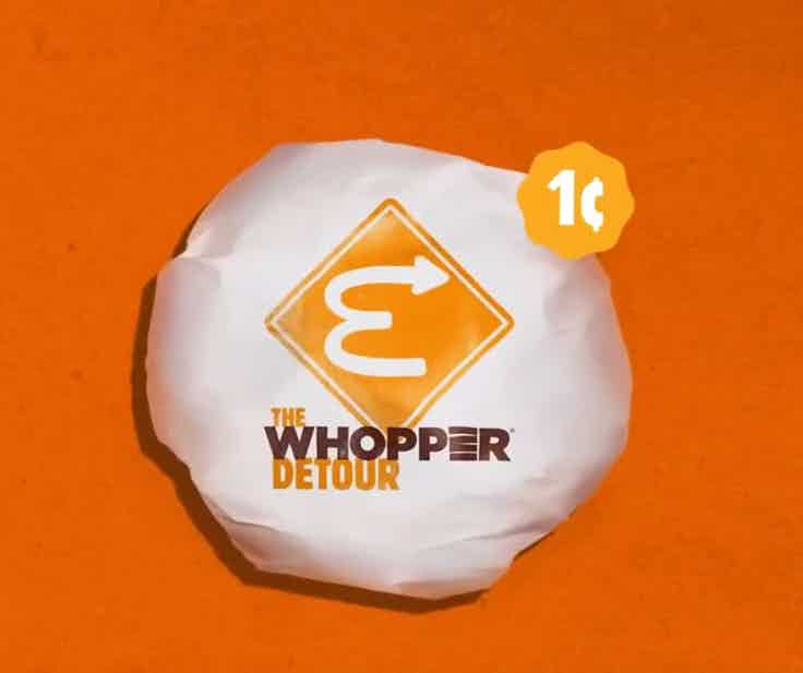 Burger King Whopper Detour