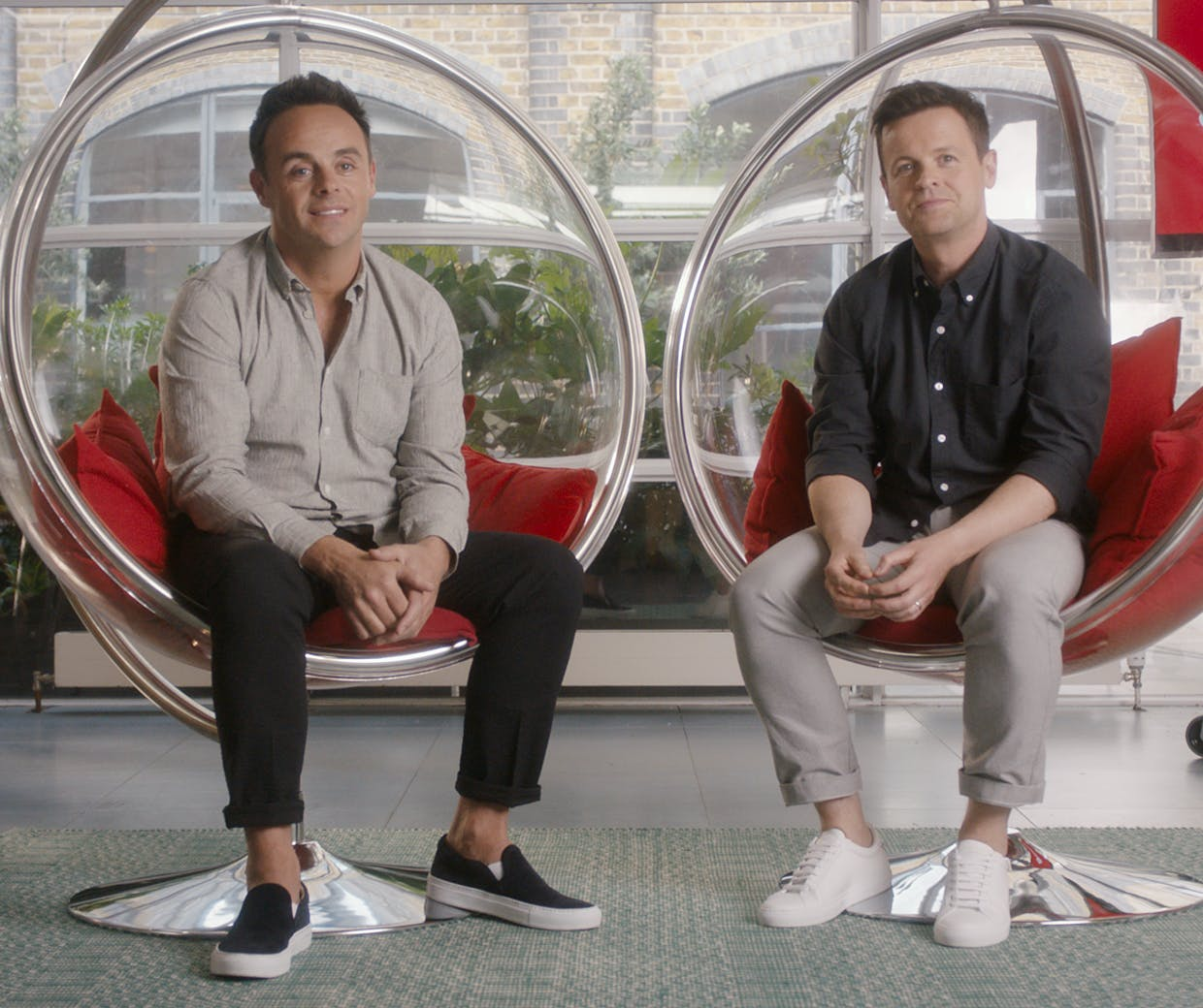 Ant and Dec Santander ad campaign