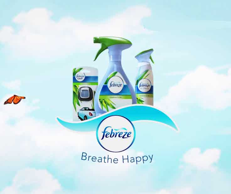 febreze breathe happy