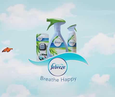 febreze breathe happy