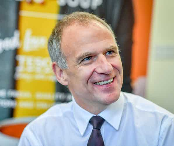 Tesco CEO Dave Lewis