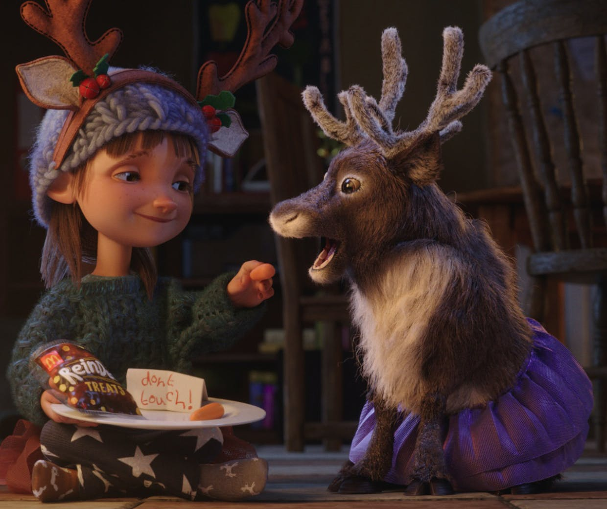 McDonald's celebrates the power of imagination in Christmas ad
