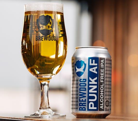 Brewdog Punk AF beer