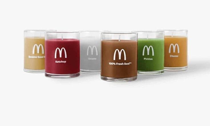 mcdonalds candle