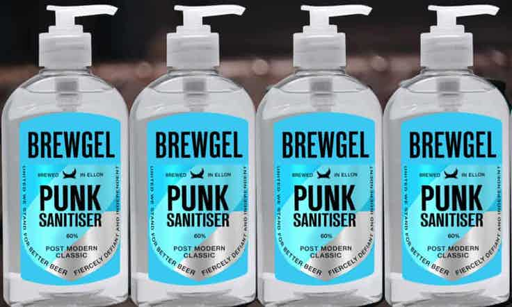 brewdog punk sanitiser