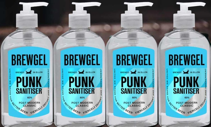 brewdog punk sanitiser