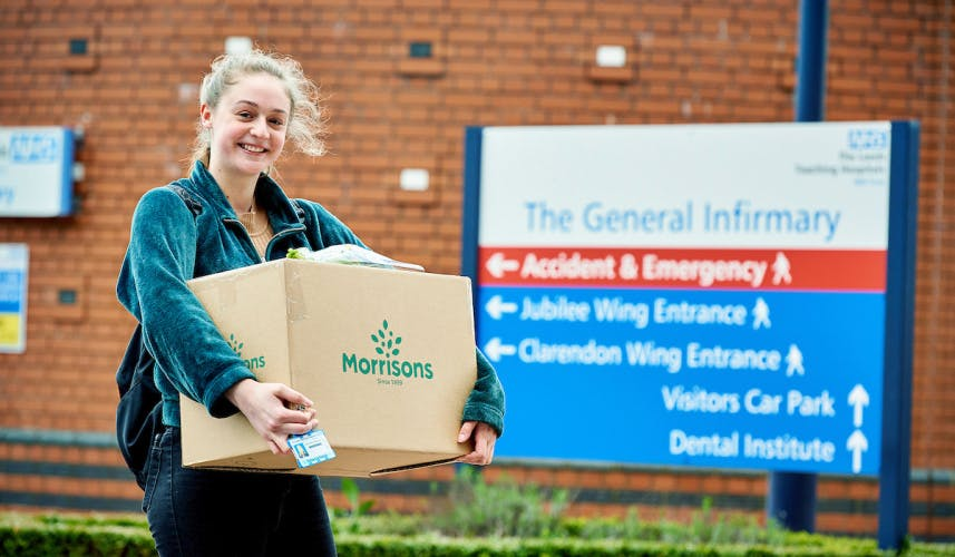 Morrisons NHS collection