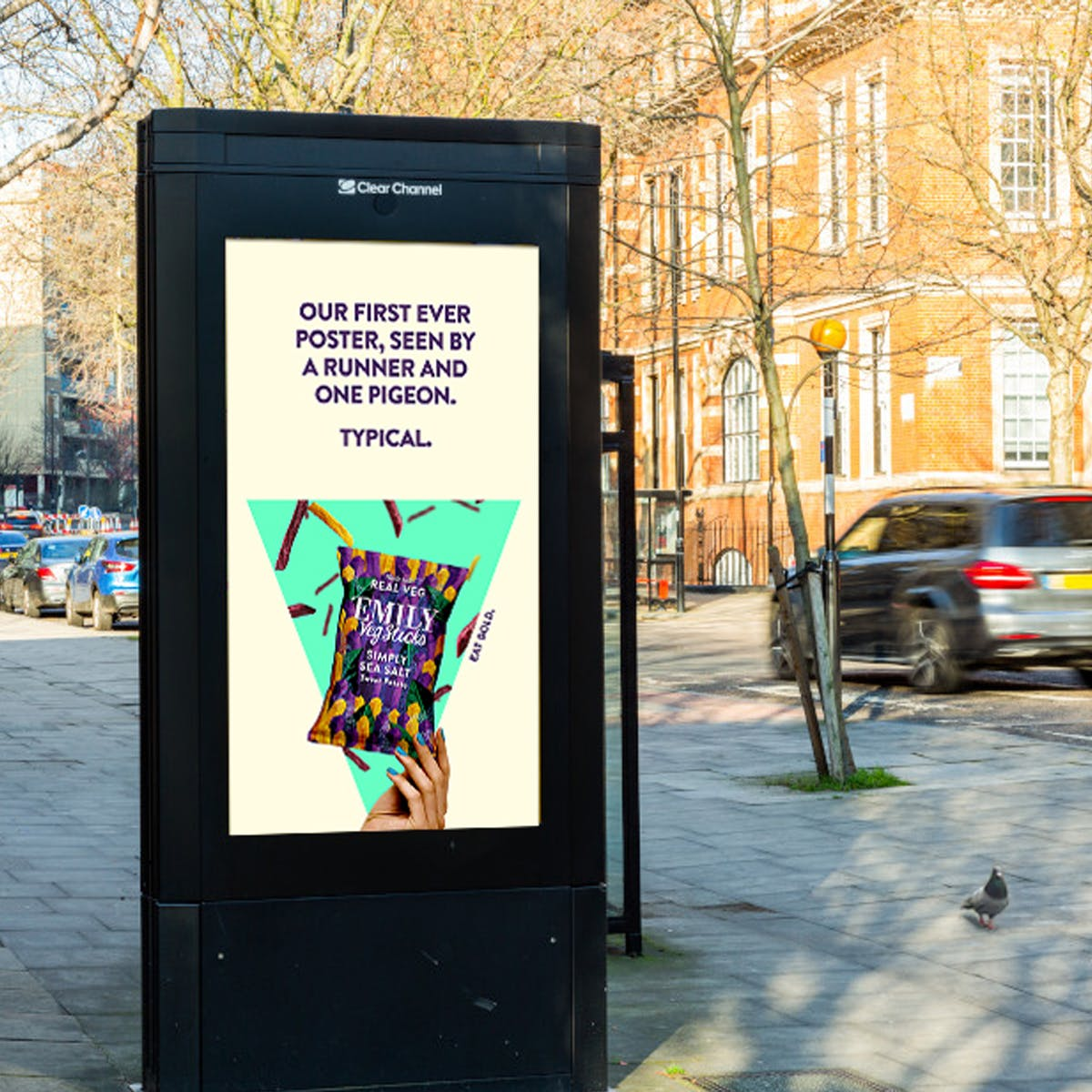 Why one snack brand launched an outdoor campaign in a lockdown