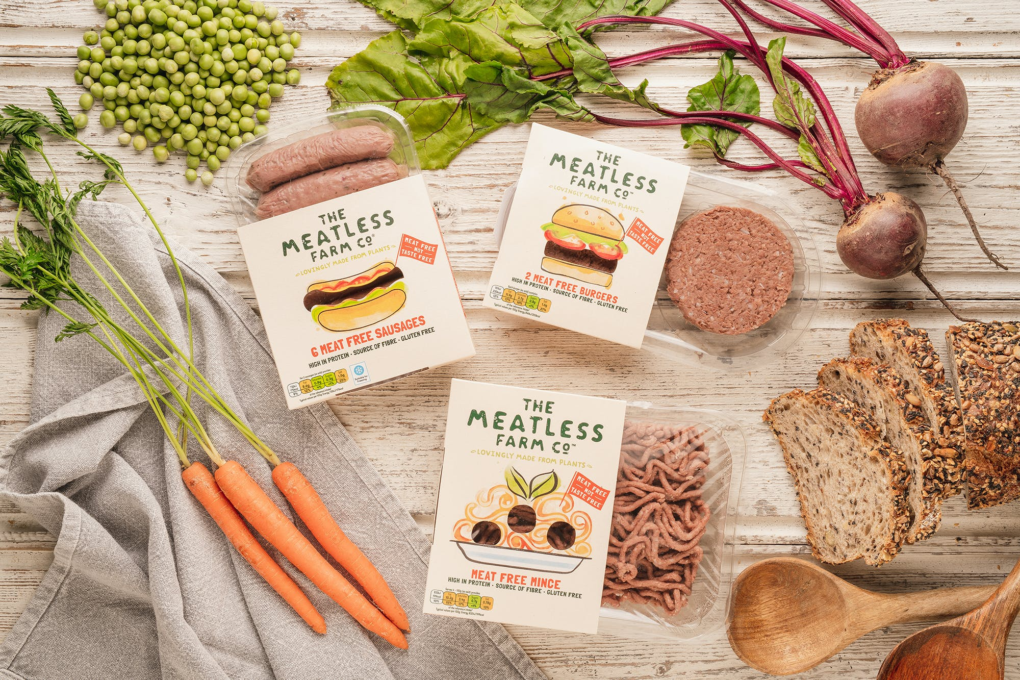 Meatless Farm turns to TV as it looks to boost growth