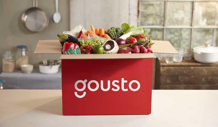 Gousto box