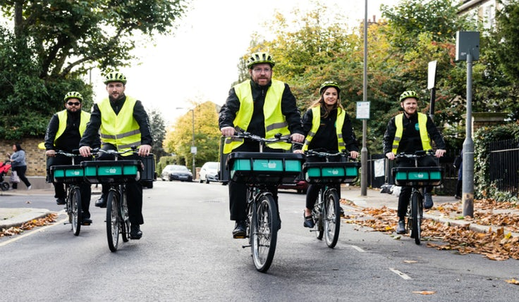 Sainsbury's Chop Chop delivery riders