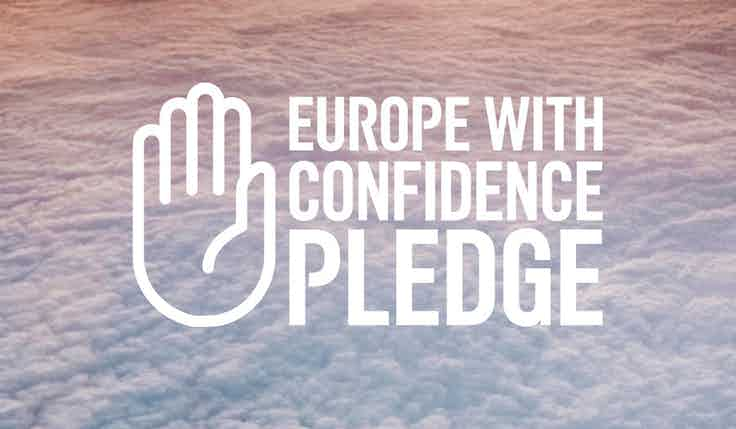 easyjet europe with confidence pledge