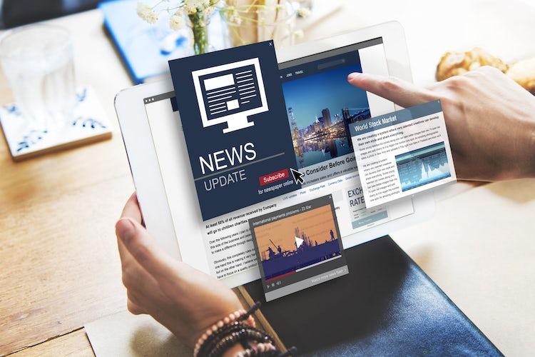 news sites advertising