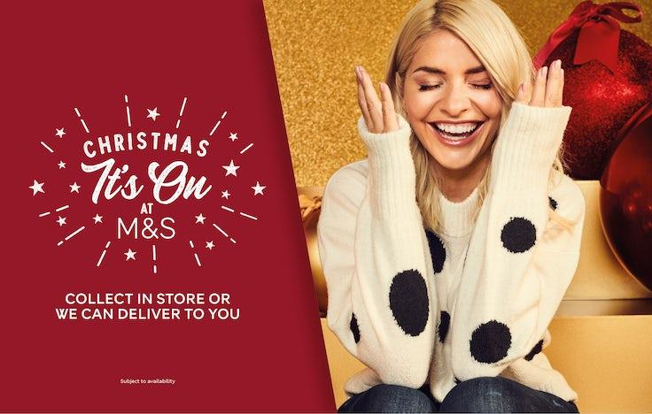 M&S Christmas Advert 2021