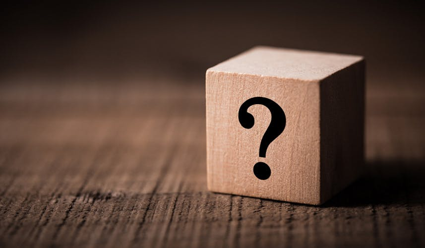 Question mark December
