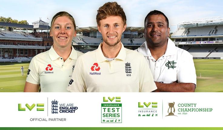 LV English Cricket Board sponsorship