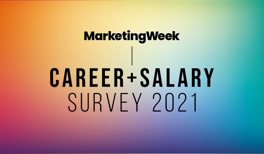 2021 Career and Salary Survey logo